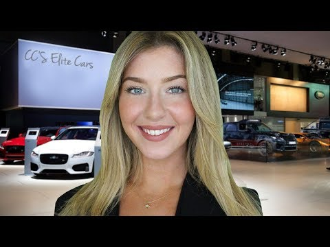 [ASMR] The Luxury Car Saleswoman