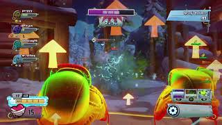 Plants vs Zombies GW2_Normal Yeti King_All Pea Shooters