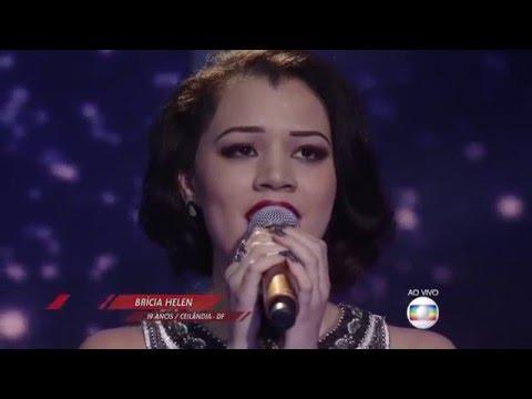 Brícia Helen canta 'Como 2 e 2' no The Voice Brasil - Semifinal | 4ª Temporada