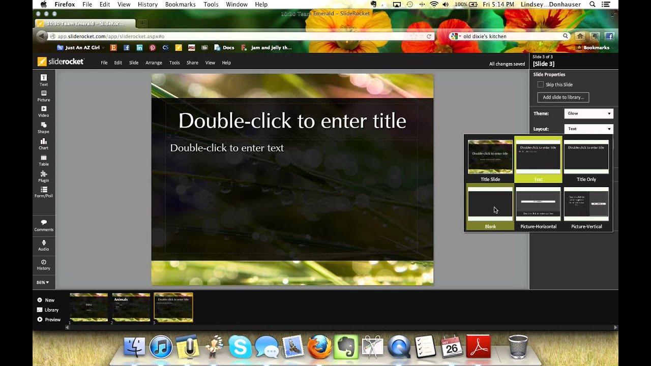 SlideRocket Demo - YouTube