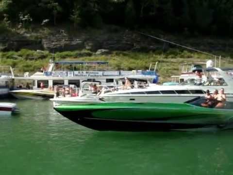 Lake Cumberland Poker Run 2012- Harmon Cove Pt 2