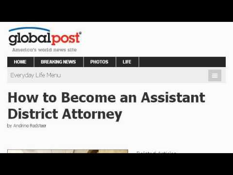 How-To Become A Deputy District Attorney