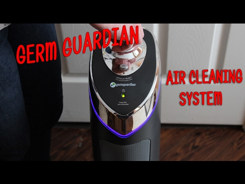 GermGuardian Air Cleaning System Product Review ⭐Air Purifier