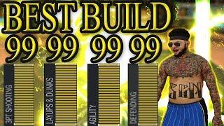 NBA 2K17: BEST BUILD (BECOME A DEMIGOD)(99 EVERYTHING)