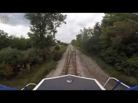 Locomotive Ride Along: Great Lakes Central Railroad