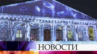 Световое шоу «Письма Победы» будут транслировать настенах Манежа.
