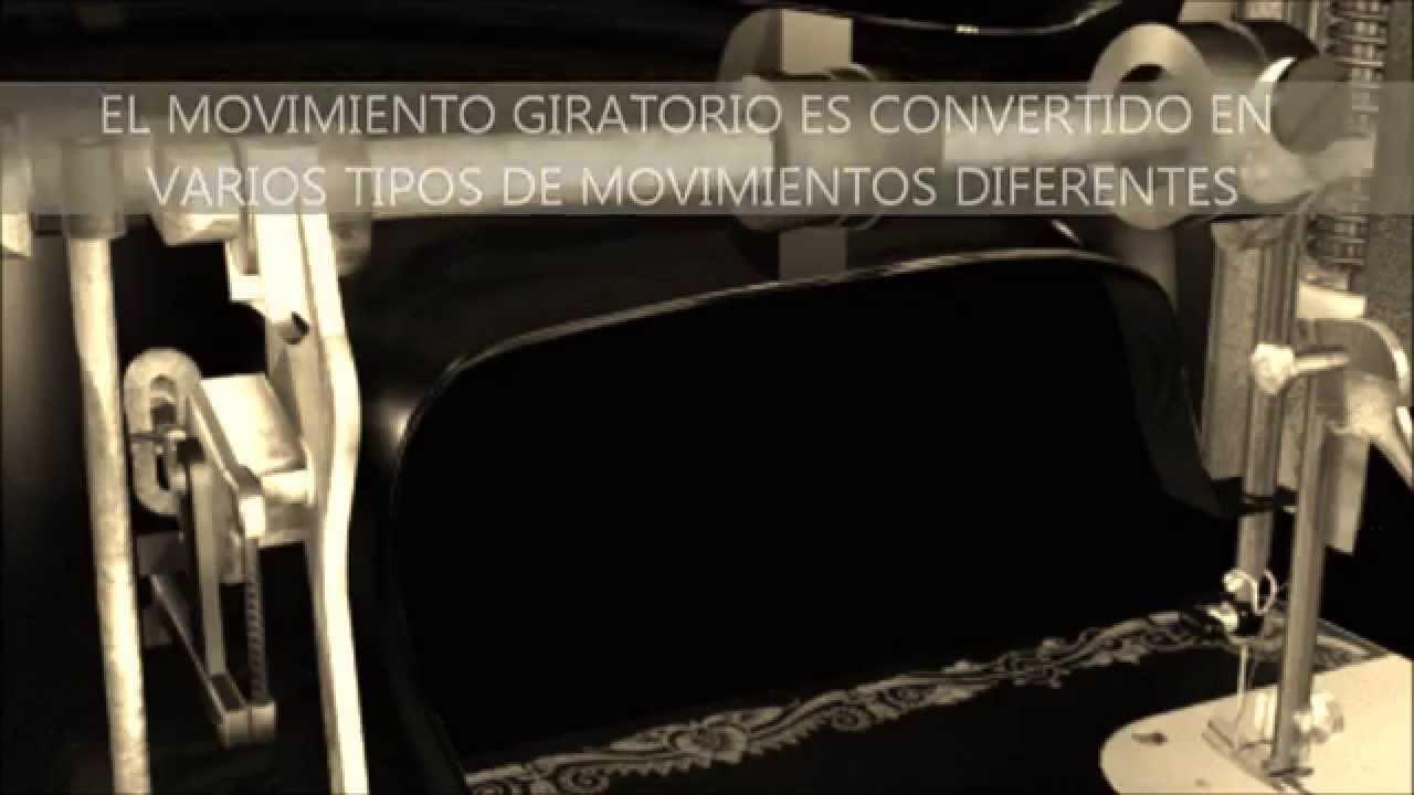 MECANISMO INTERNO DE MAQUINA DE COSER - YouTube