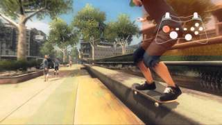 Shaun White Skateboarding - PS3 | Wii | Xbox 360 - Controls official video game preview trailer HD