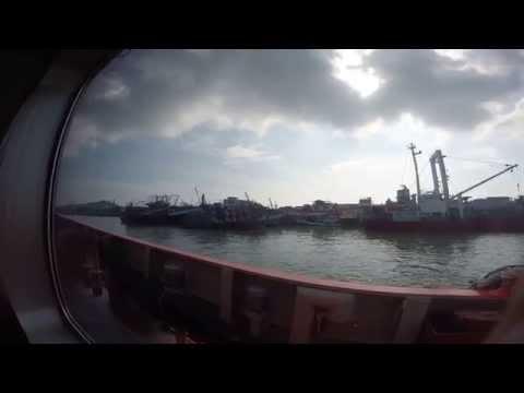 Depart port of songkhla to offshore field