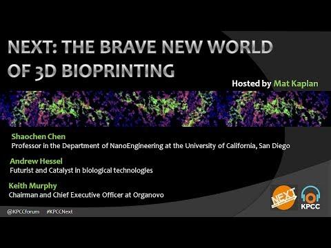 NEXT: The Brave New World of 3D Bioprinting