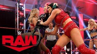 Asuka & Charlotte Flair Vs. Sasha Banks & Bayley Vs. The Iiconics: Raw, June 8, 2020