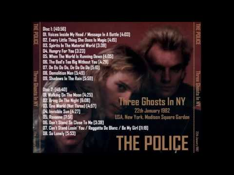 "The Police- New York, NY 1-22-1982 ""Madison Square Garden"" (2nd alt. source) FULL SHOW!"