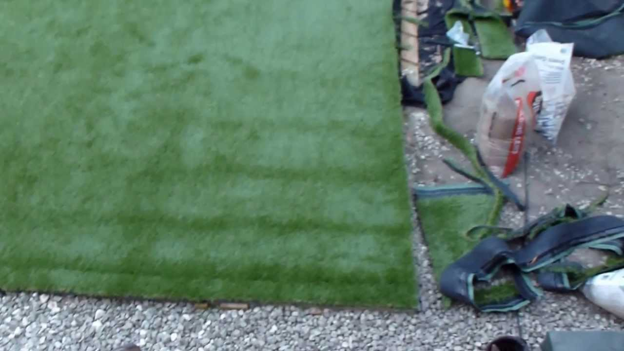How to lay artificial grass diy youtube solutioingenieria Image collections