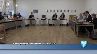 Fundur Bæjarstjórnar 8. nóvember 2016