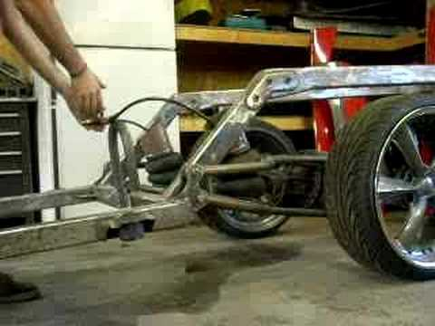 Nissan Hard Body Frame 4 Link Youtube