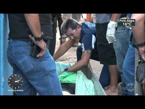 Nova chacina deixa quatro mortos em Natal | SBT Notícias (28/09/17)