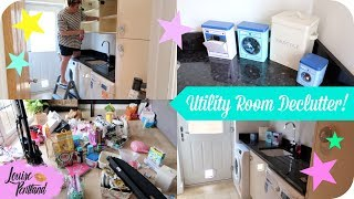AD | Laundry Room Speed Clean | Declutter and Organise! | LIFESTYLE