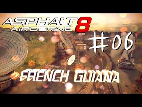 [#6 New Map Guyana] Let's Play Asphalt 8 iOS Gameplay [1080p / FullHD]