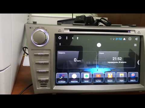 Магнитола Toyota Camry 40 Android