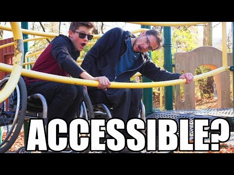 Wheelchair Accessible Playground Tour