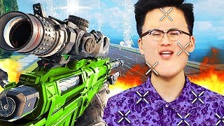 1V1 TROLL VS 'RICEGUM' GOES TERRIBLY WRONG! (Black Ops 3 Trolling)