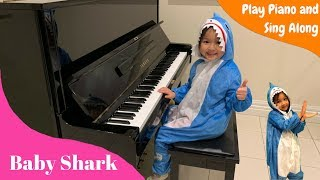 Baby Shark Play Piano And Sing Along - Learn With EA Kids