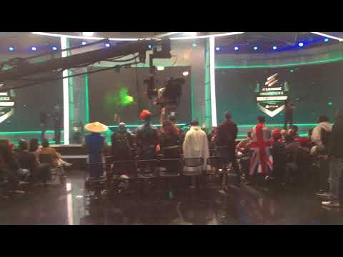 Thumbnail: Injustice 2 Fighter Pack 3 Reveal from Eleague Desk - TMNT