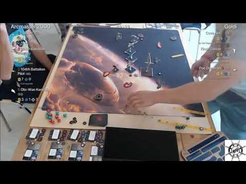 X-Wing Turnierbericht: Galaktische Welten 2 Runde 3