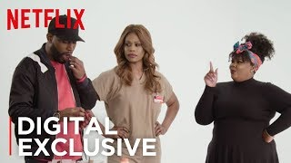 Orange is the New Black | Snacks, Snacks ft. Laverne Cox & Nicole Byer | Netflix