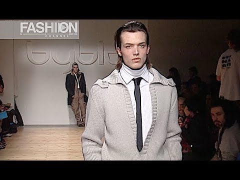BYBLOS Fall 2003 2004 Menswear Milan - Fashion Channel