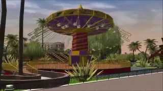 Wonder World Amusement Park | RCT3 - HD
