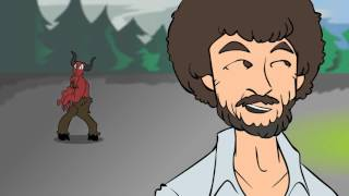 Bob Ross Beats the Devil Out of It 1