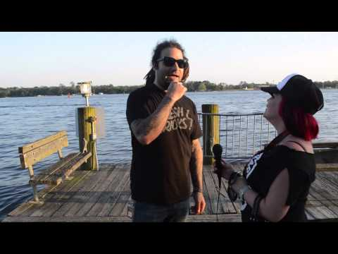 Smile Empty Soul Interview at RockVille 2014 by Evie Star
