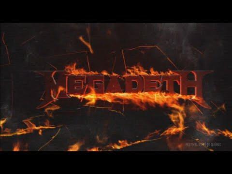 Megadeth - Festival D'été de Quebec 2015