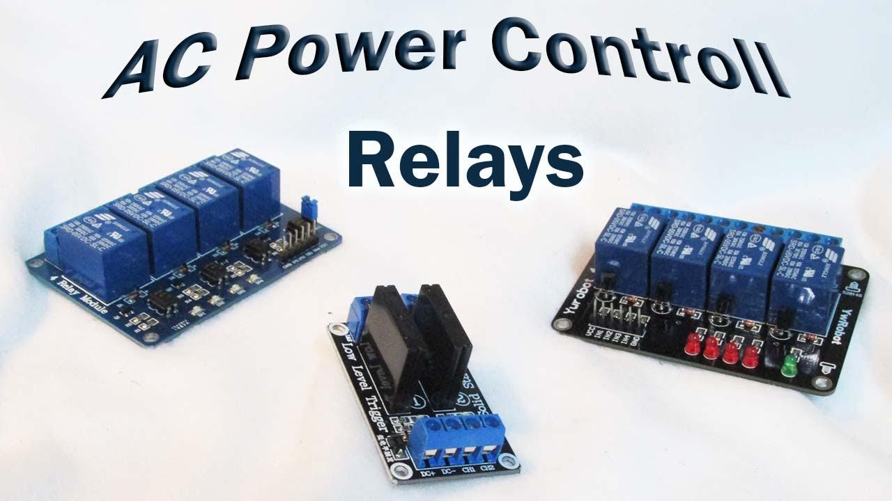 DIY Arduino Digital Aquarium Controller Part5: AC Relay and SSR ...