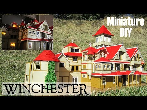 DIY Miniature – Winchester Mansion