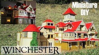 DIY Miniature - Winchester Mansion