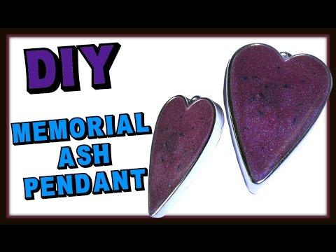 Memorial Heart Ash Pendant DIY ~ Craft Klatch Resin Jewelry