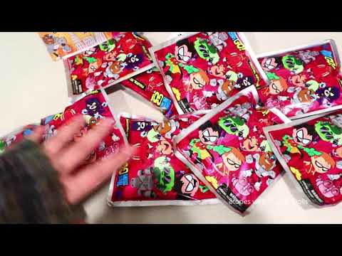Mystery ! Toys and Dolls Fun for Kids Playing with Teen Titans Go! & Blind Bag Opening | SWTAD