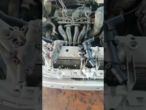 Замена(снятие) термостата на форд фокус 1