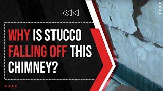 Bad Stucco Job on Chimney