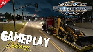American Truck Simulator (Digger 500) Delivery to Cheyenne, WY (HD) PC Gameplay