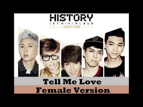 History - Tell Me Love [Female Version]