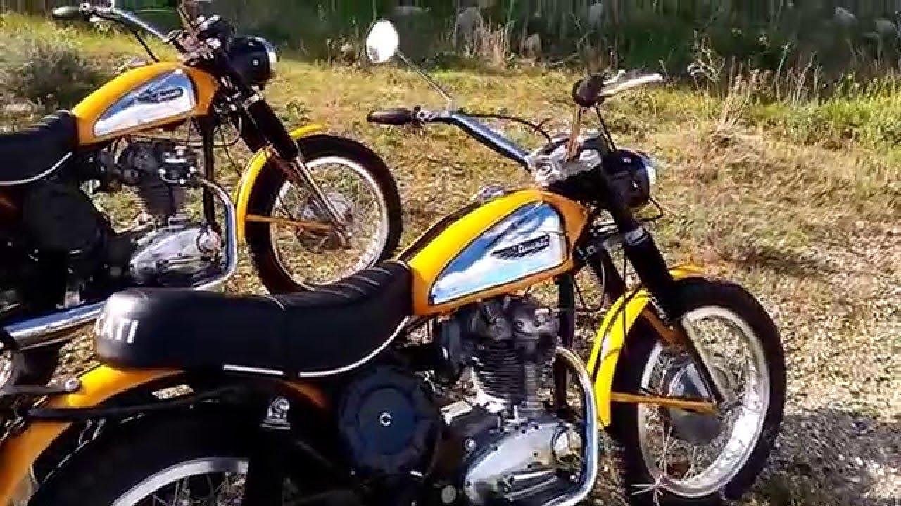 Ducati Scrambler 250 Epoca 70 Youtube
