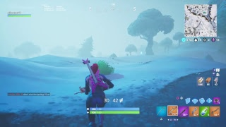 NEW SNEAKY SNOWMAN GAMEPLAY l Playing With Subs l Ali A Tfue l FORTNITE BATTLE ROYALE