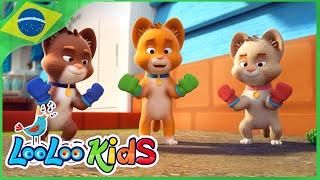 Três Gatinhos - Músicas Infantis Para Crianças - LooLoo Kids Português