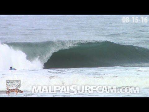 Mal Pais, www malpaisurfcam com 08 15 16 Surfing Santa Teresa Costa Rica