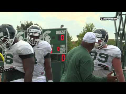 Michigan State Football: First Day of Pads