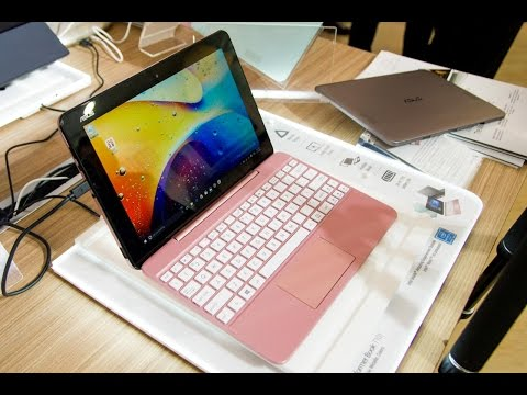 ASUS Transformer Book T101 Hands On at Computex 2016 (English)
