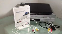 Wie kann ich: VHS auf Pc übertragen / VHS auf PC überspielen/ Videokassetten digitalisieren